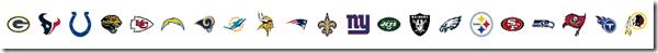 NFL Logos 2015